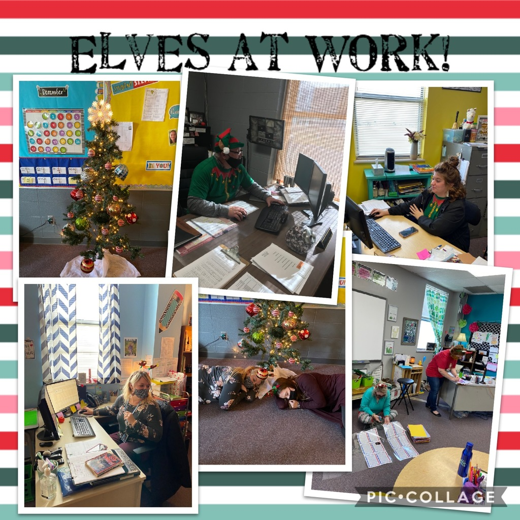 Elves at work and some play!