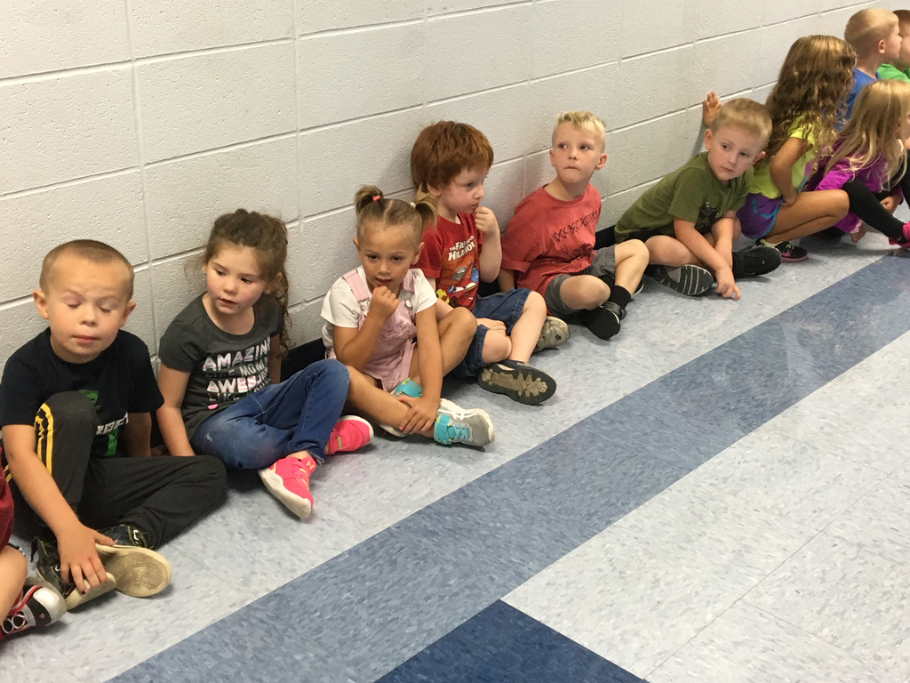 Preschool is already taking it all in!