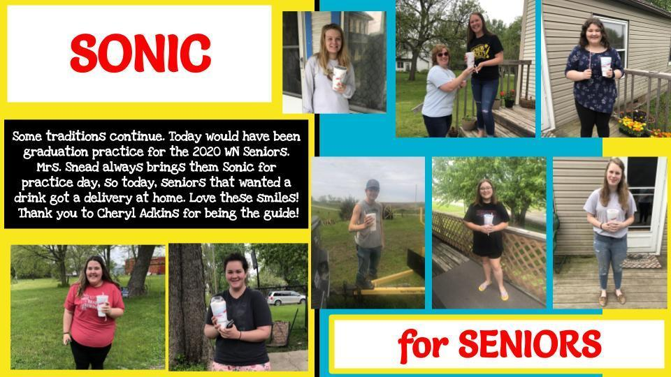 Sonic Drinks for Seniors