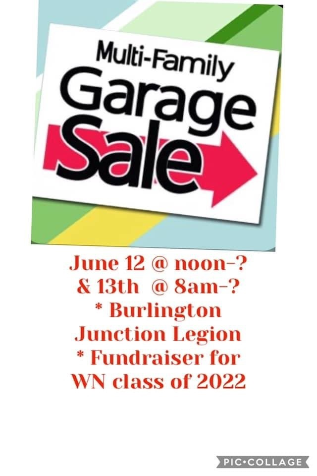 Garage Sale Fundraiser